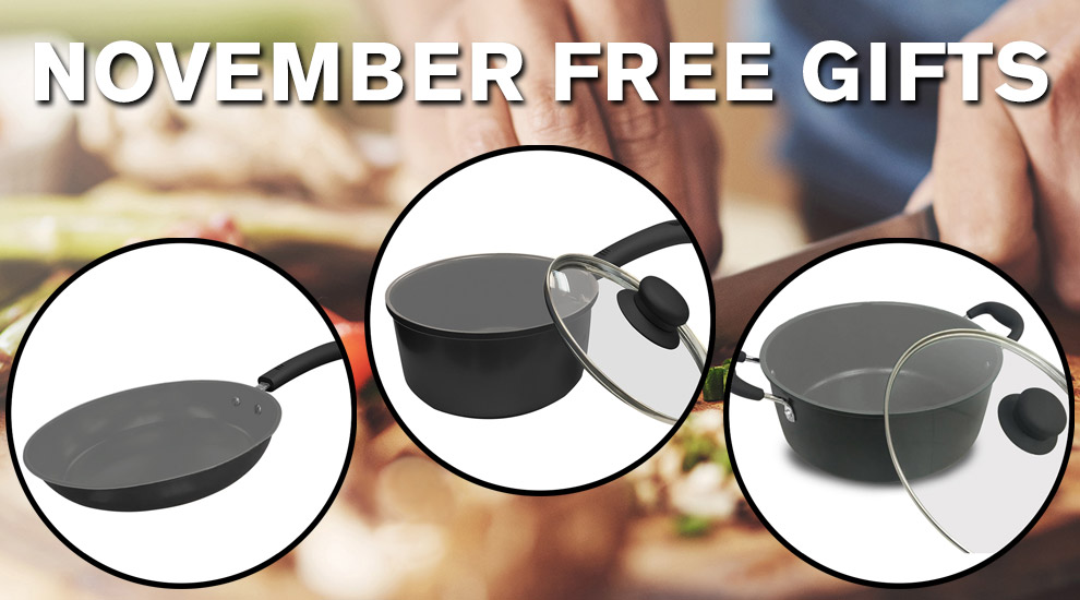 Free Gift: IKO Cookware - INVITE ONLY