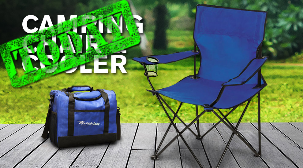 Free Gift: Camping Chair and Cooler - INVITE ONLY